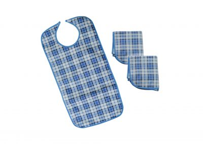 Adult Dining Bibs (Pack Of 3)