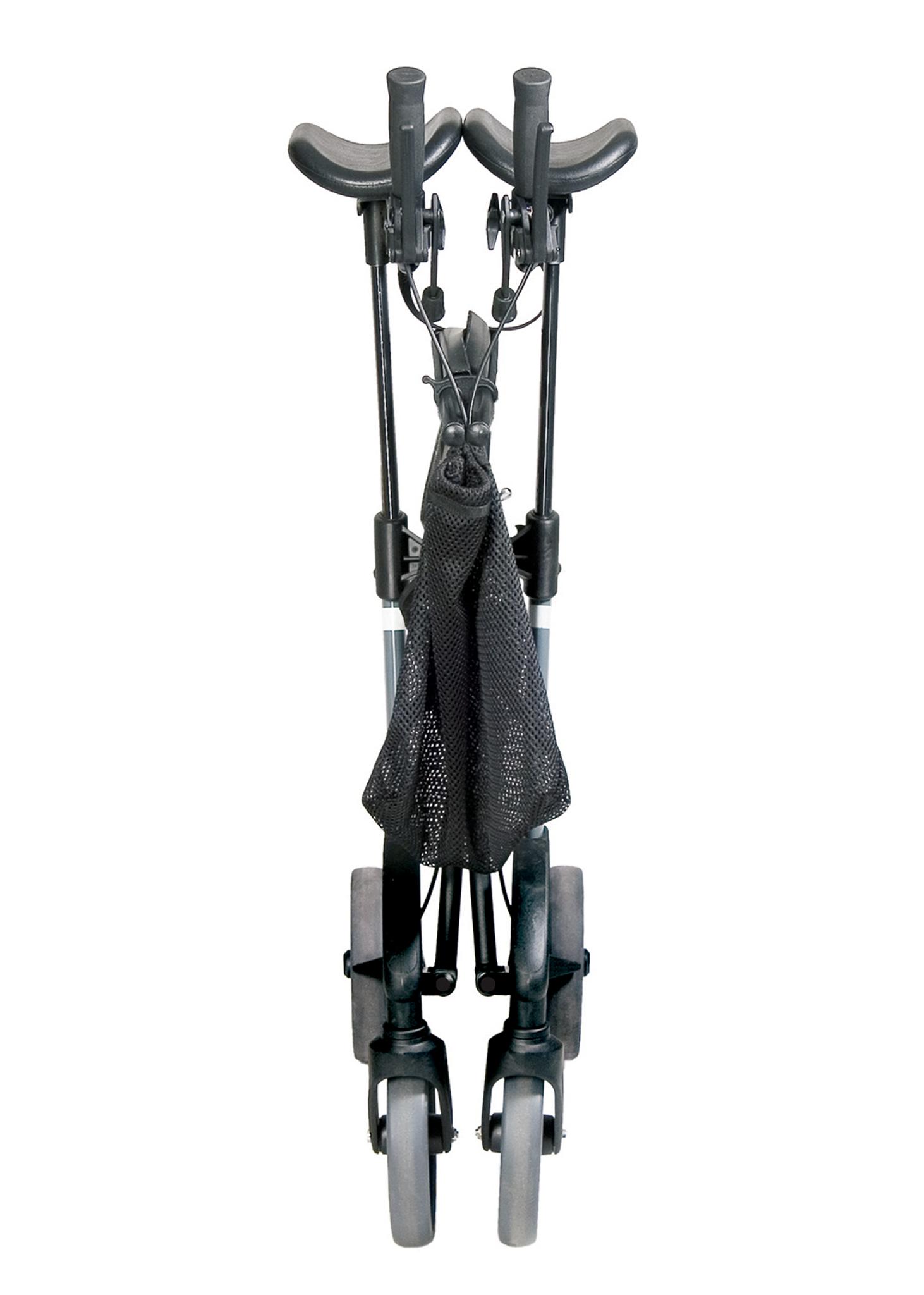 Forearm walker folded
