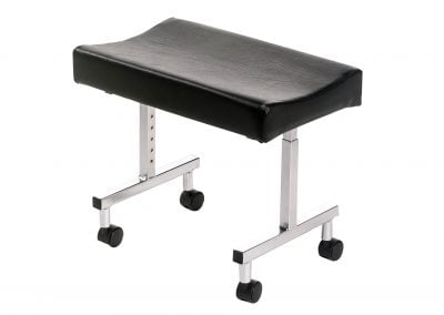Adjustable Leg rest (On castors)