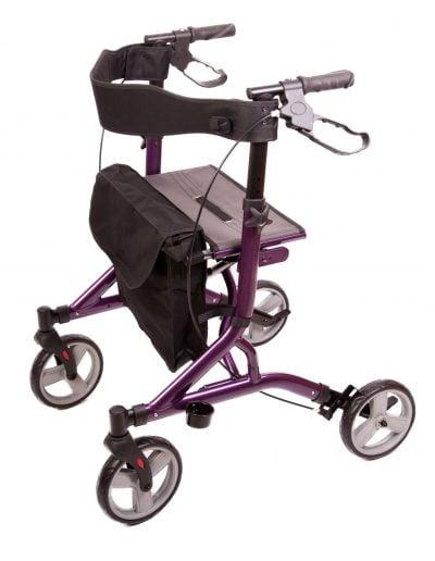 Midnight Purple Zoom Rollator