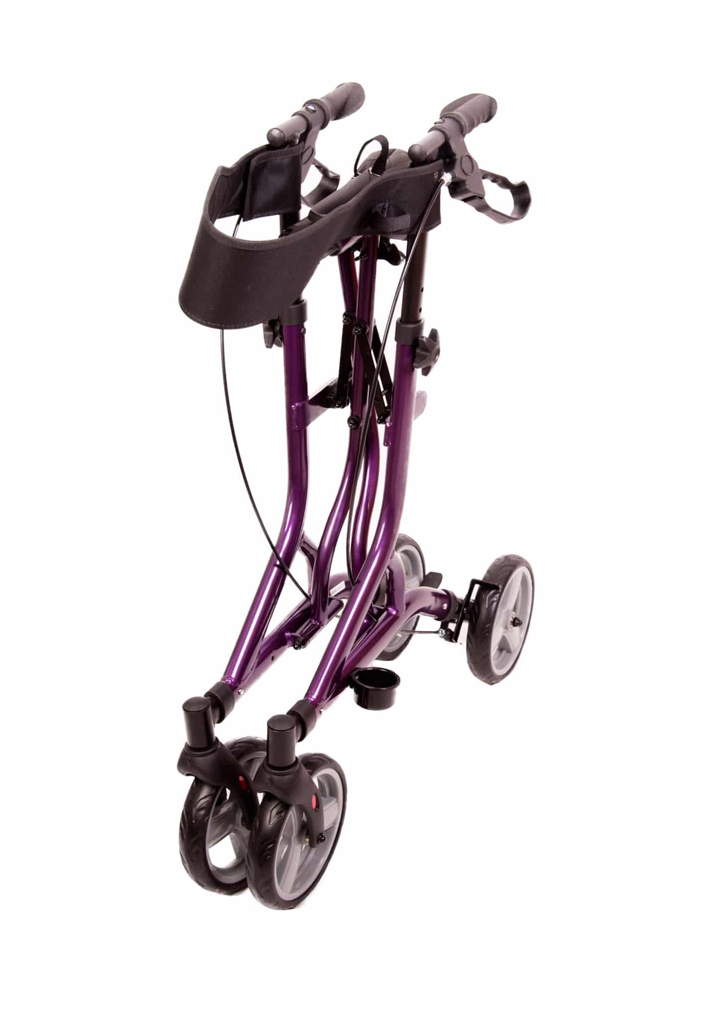 Midnight Purple Zoom Rollator (Folded)