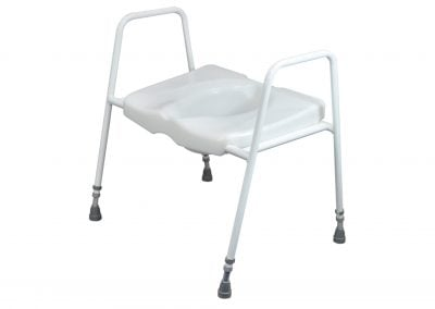President Bariatric Toilet Seat and Frame